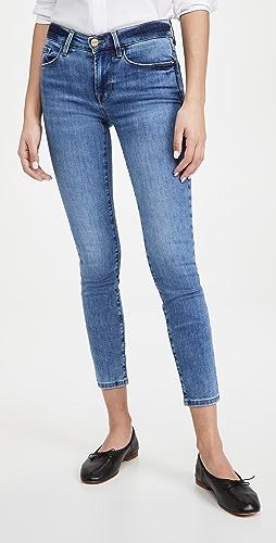 FRAME - Le Skinny De Jeanne Crop Jeans