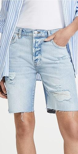 FRAME - Le Slouch 及膝超短裤