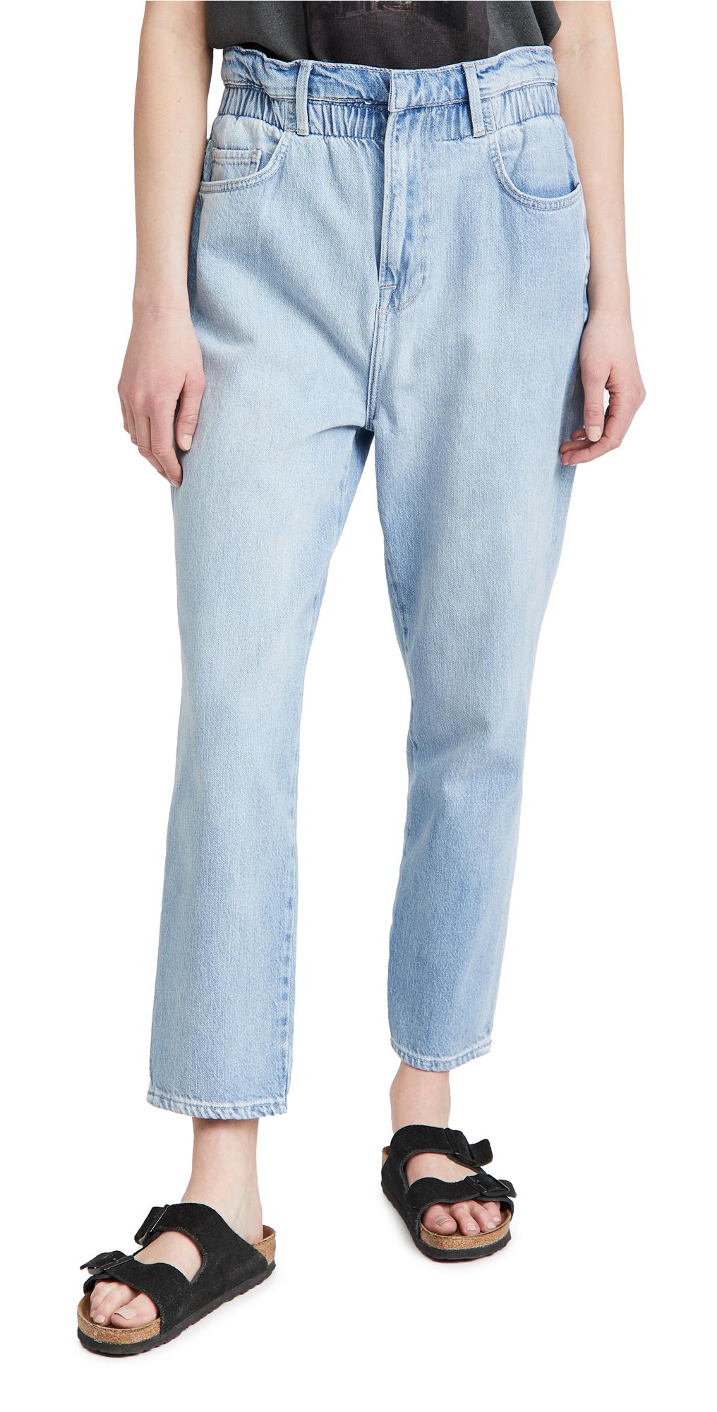 FRAME Elastic Waist Jeans