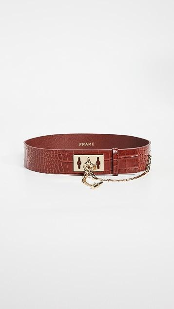 FRAME Le Chain Lock Waist Belt