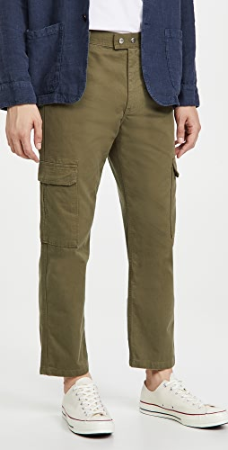 FRAME - Twill Cargo Trousers