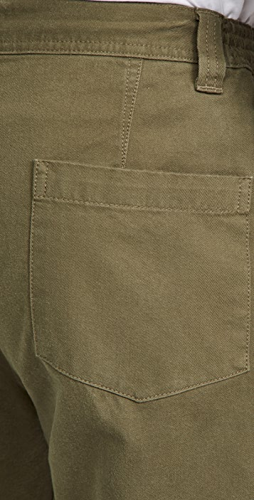 FRAME Twill Cargo Trousers