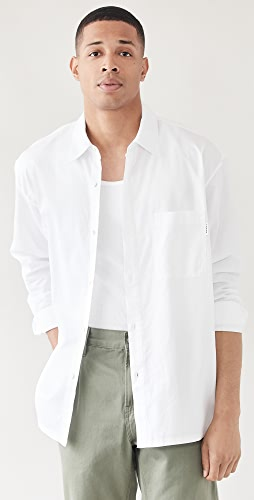 FRAME - Relaxed Cotton Shirt