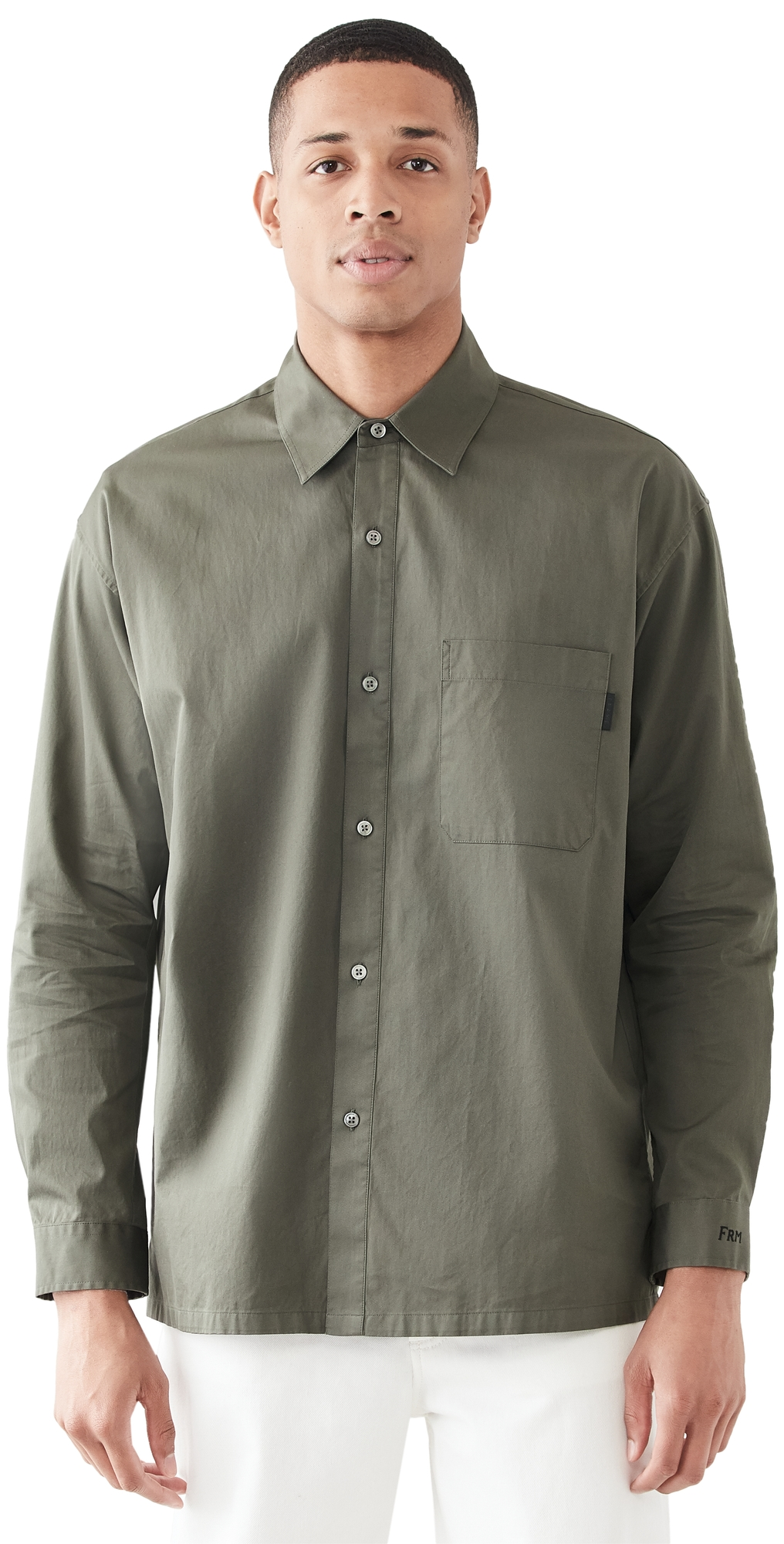 FRAME Relaxed Cotton Shirt