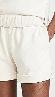 FRAME Rolled Up Shorts