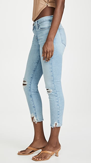 FRAME Le Garcon Crop Released Cut Jeans