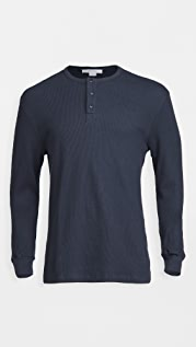 FRAME Long Sleeve Henley