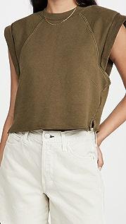 FRAME Rolled Up Sweatshirt