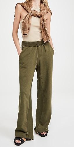 FRAME - Wide Leg Sweatpants