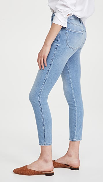 FRAME Le High Skinny Double Needle Jeans