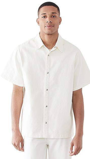 FRAME Heavy Denim Loose Fit Shirt