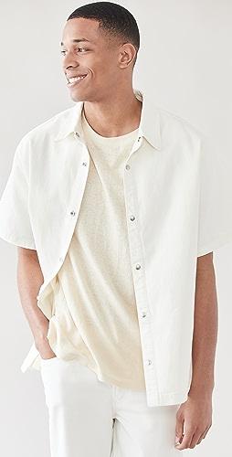 FRAME - Heavy Denim Loose Fit Shirt
