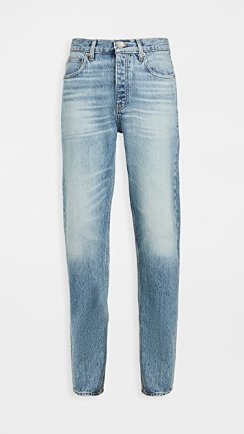 FRAME Clean Straight Jeans