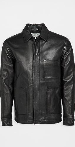 FRAME - Leather Workwear Jacket