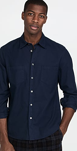FRAME - Double Pocket Brushed Flannel
