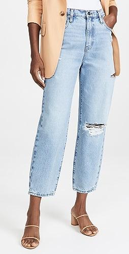 FRAME - Ultra High 直脚牛仔裤