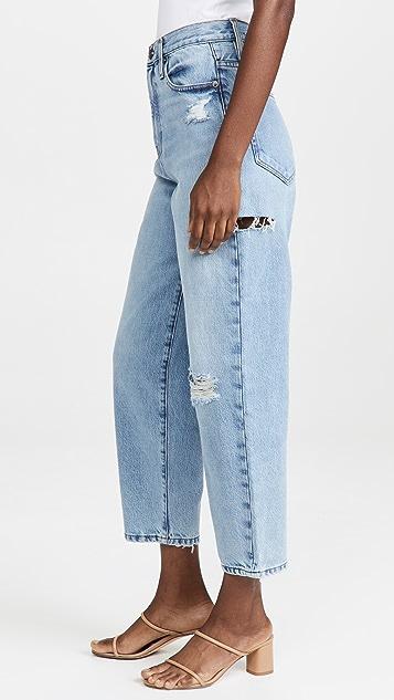 FRAME Ultra High 直脚牛仔裤