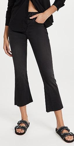 FRAME - Le Cropped Mini Boot Raw Edge Jeans