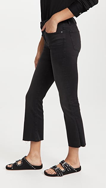 FRAME Le Cropped Mini Boot Raw Edge Jeans