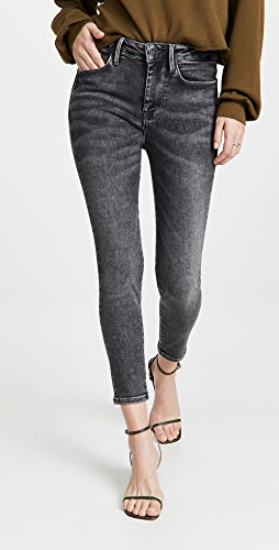FRAME - Le One Skinny Crop Jeans