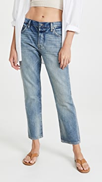 FRAME Le Pixie Slouch Jeans