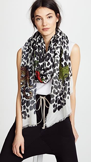 Franco Ferrari Animal Scarf