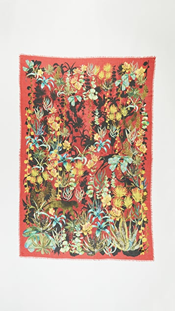 Franco Ferrari Jungle Scarf