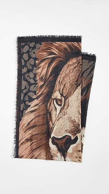 Franco Ferrari 金属色围巾
