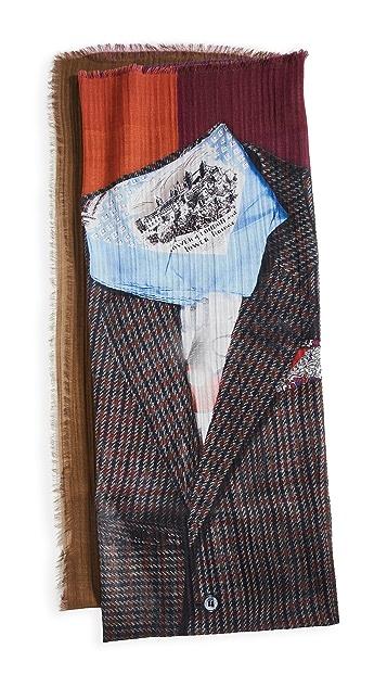 Franco Ferrari Paris Man Outfit 围巾