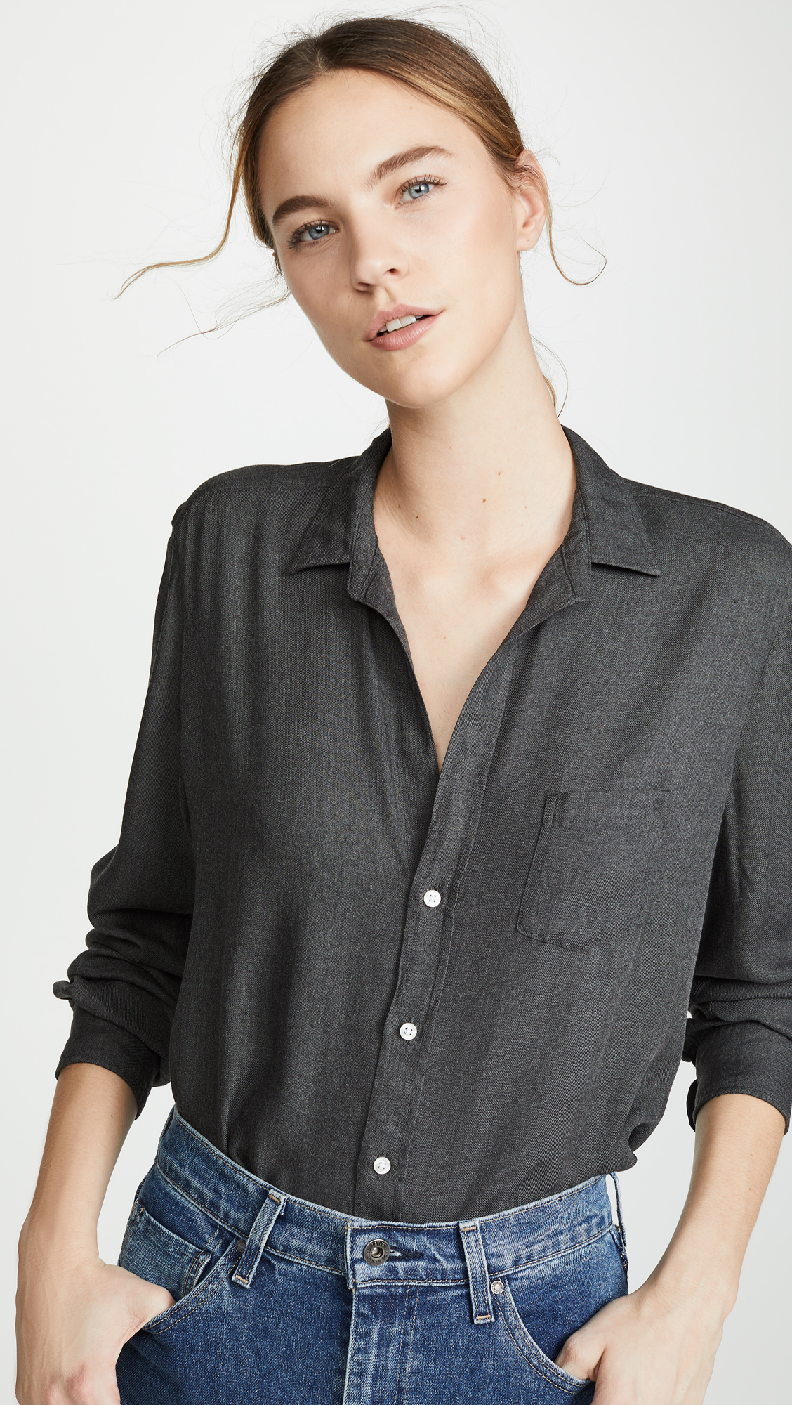 Frank & Eileen Eileen Long Sleeve Button Down