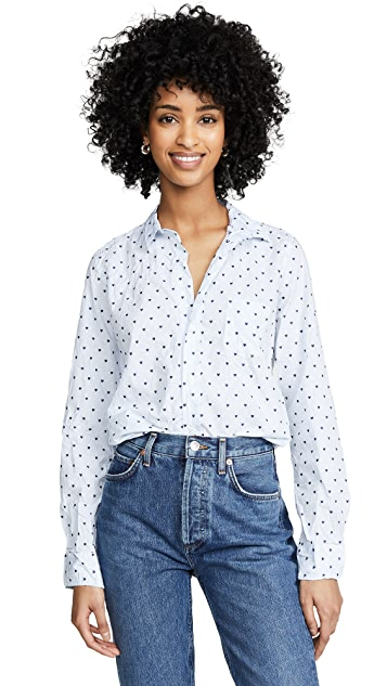 Frank & Eileen Barry Long Sleeve Button Down Shirt