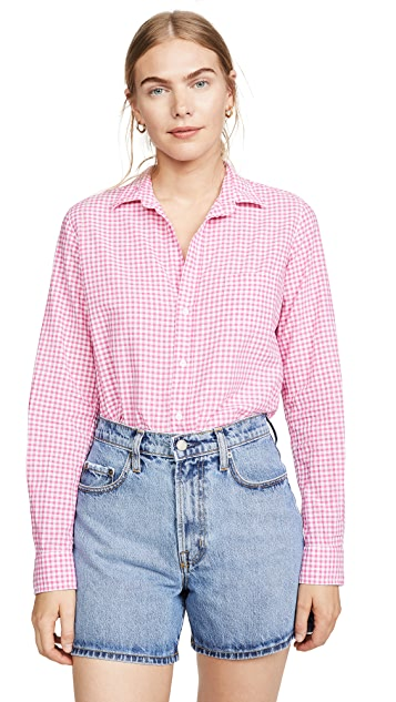 Frank & Eileen Barry Long Sleeve Button Down