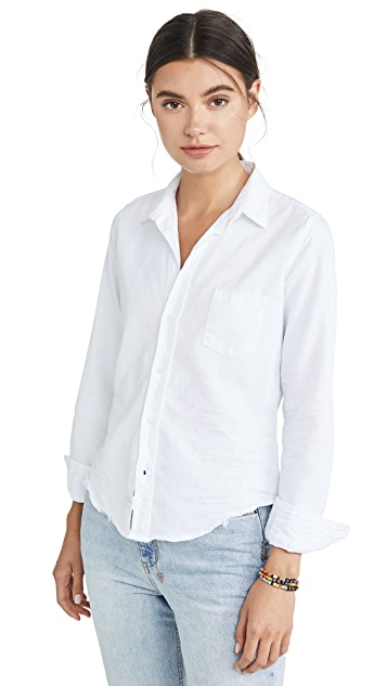 Frank & Eileen Barry Denim Button Down Shirt