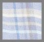 синий/серо-коричневый/белая клетка