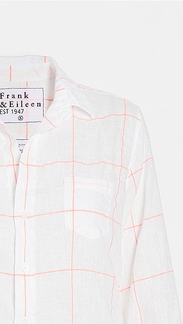 Frank & Eileen Womens Button Down Linen Shirt