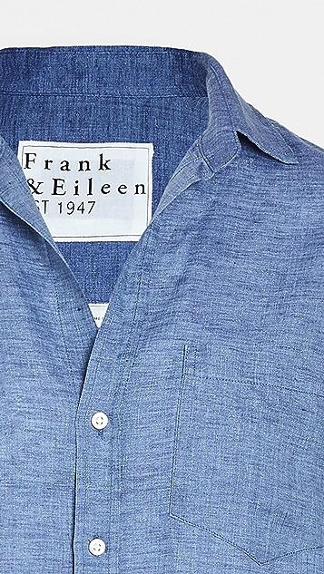 Frank & Eileen Womens 系扣上衣