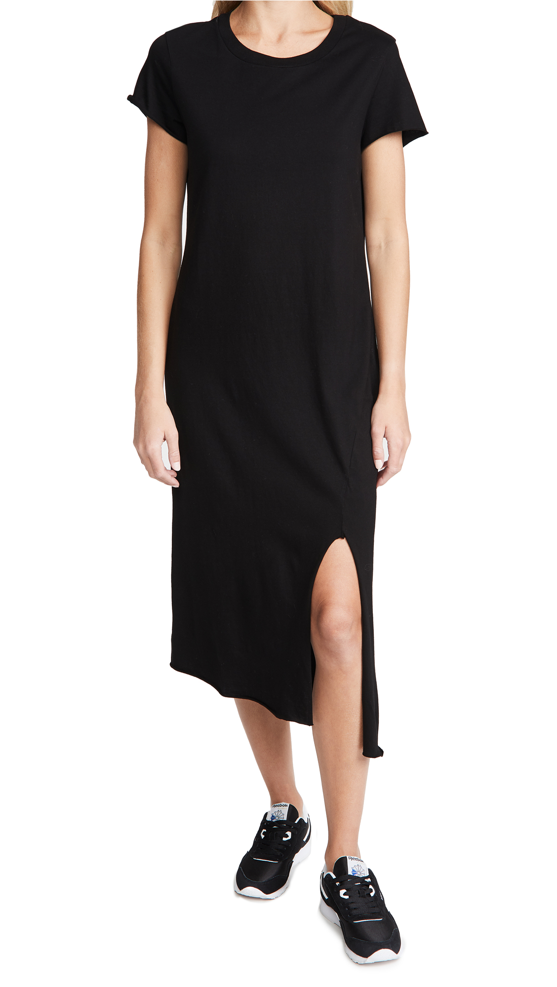 Frank & Eileen Short Sleeve Crew Neck Dress