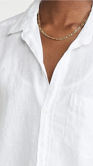 Frank & Eileen Rose Linen Button Down Shirt