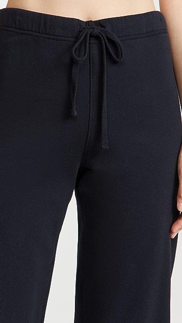 Frank & Eileen Cropped Wide Leg Sweatpants