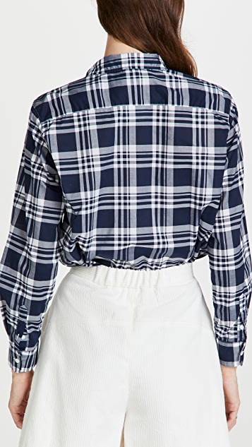 Frank & Eileen Eileen Woven Button Up Shirt