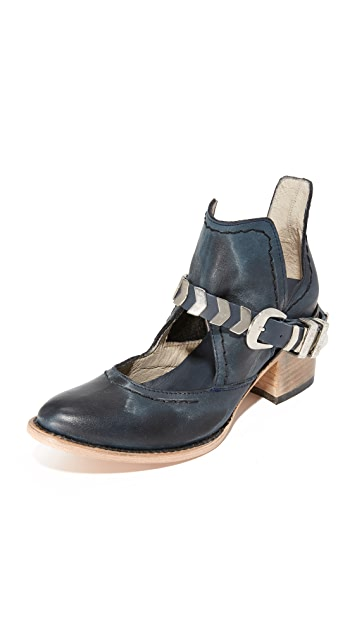 FREEBIRD by Steven Blade Cutout Booties