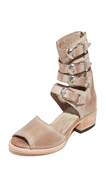 FREEBIRD by Steven Pilar Cutout Booties
