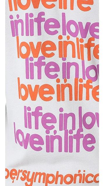 FREECITY Live in Love Zip Hoodie