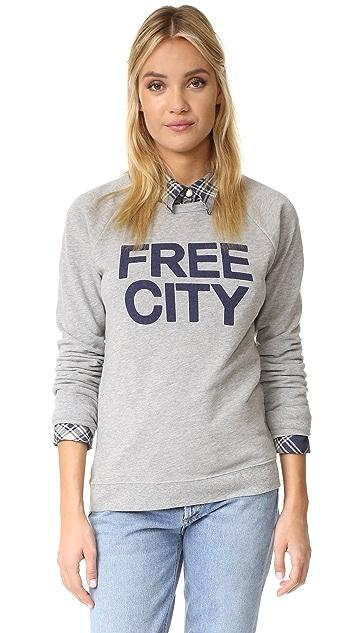 FREECITY STR8UP Raglan Sweatshirt