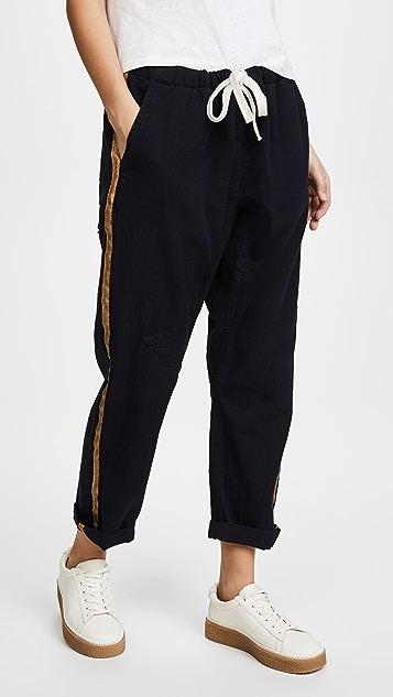 FREECITY Golden Deepspace Pants