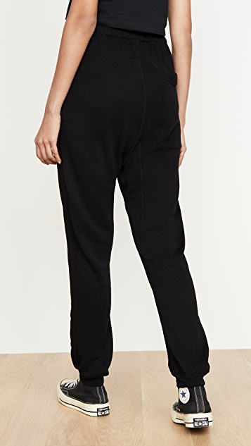 FREECITY 超级毛绒口袋运动裤