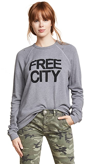 FREECITY Super Thrash Destroy Sweatshirt