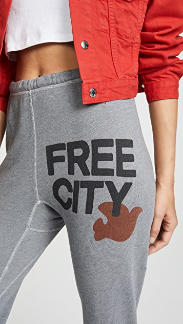 FREECITY Destroy Super Thrash 3/4 Sweatpants