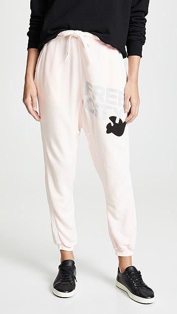 FREECITY Super Fluff Pocket Sweatpants