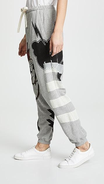 FREECITY 8 Print Paintshop Sweatpants